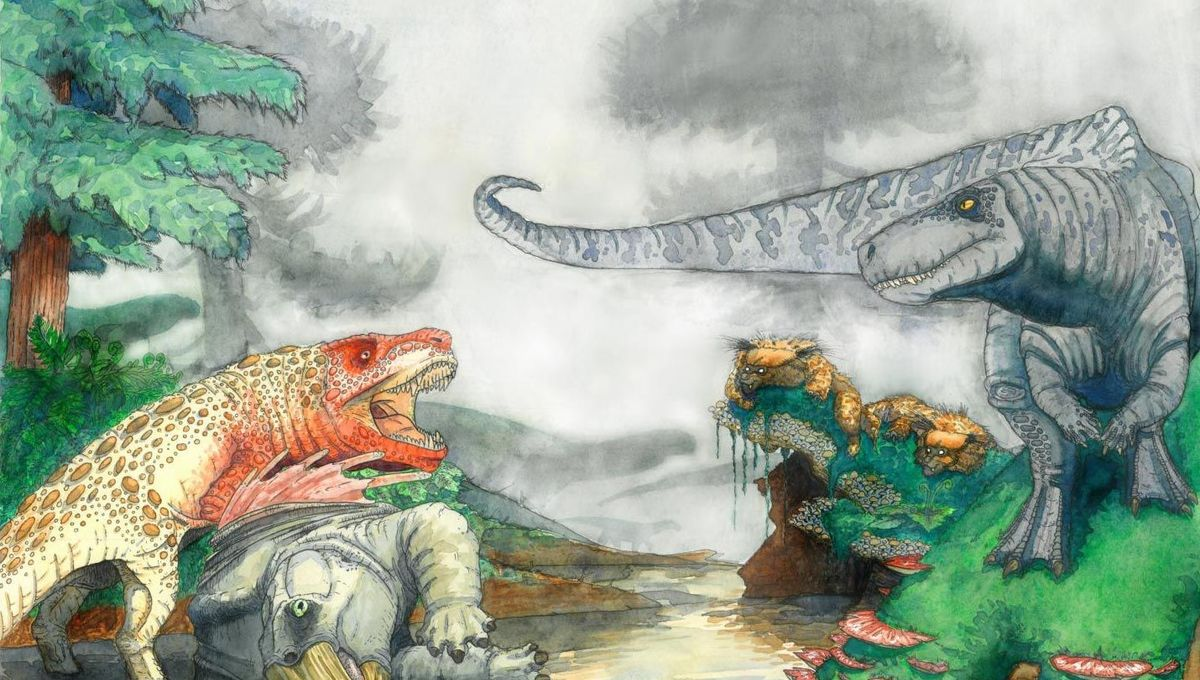 Killer croc-like predators dined on ancient Triassic dinos of Southern Africa