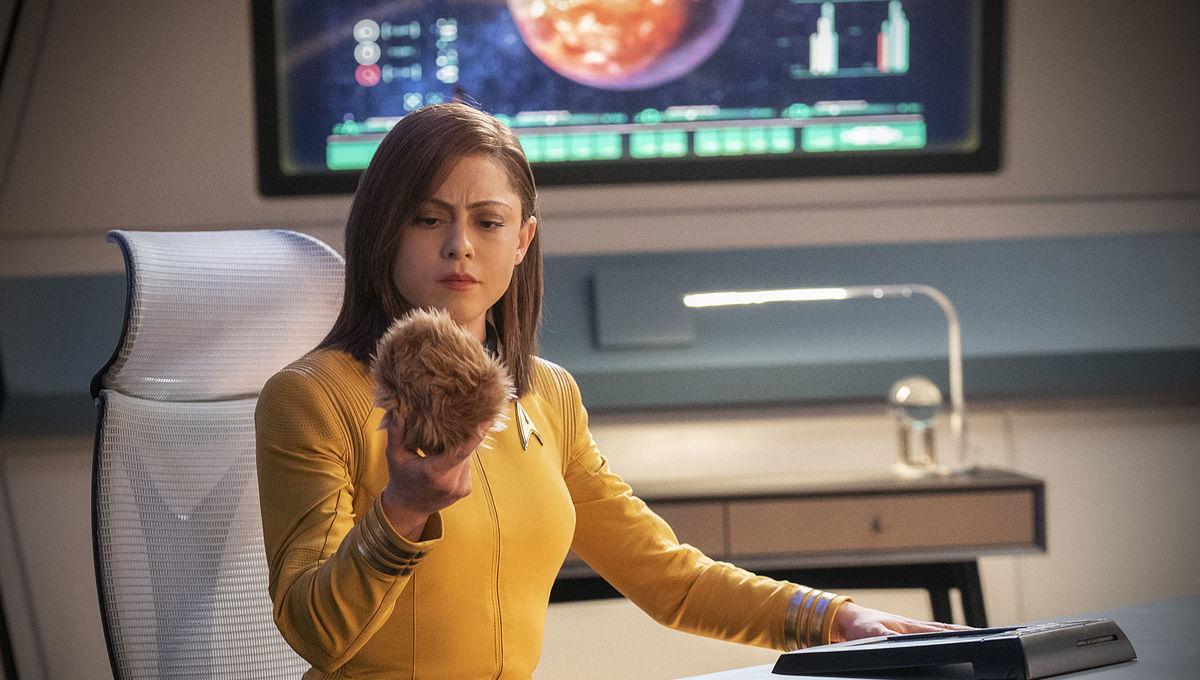 Star Trek: Rosa Salazar & H. Jon Benjamin have trouble with tribbles in new Short Treks trailer