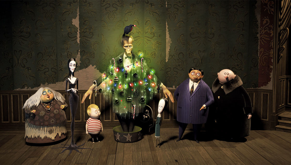 Cinesite artists illuminate Titan's The Addams Family: The Art of the Animated Movie