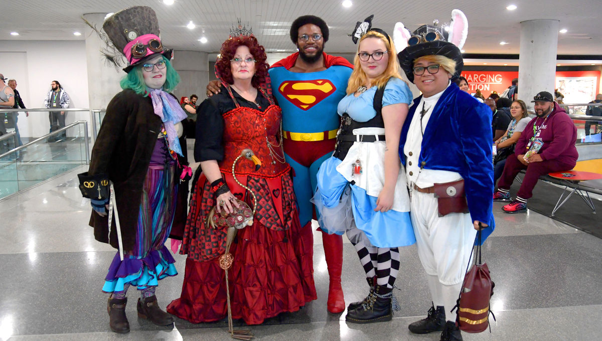 Cosplayers who are not white, thin, or physically able thrive at NYCC
