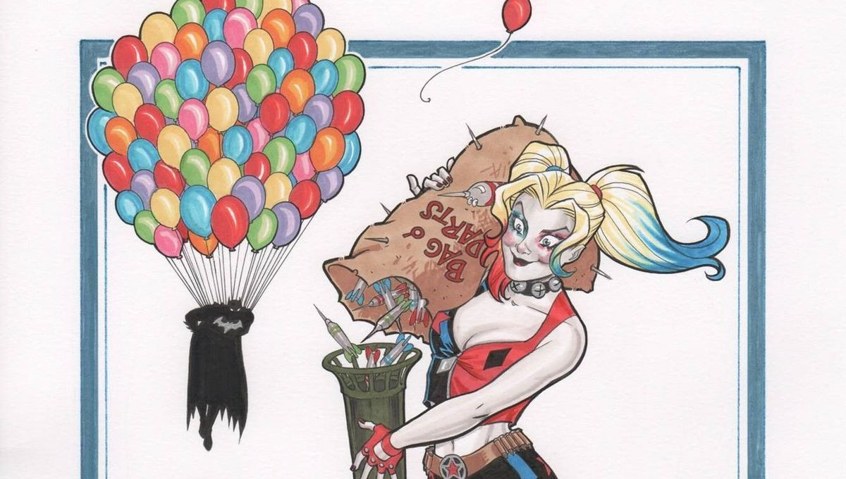 Amanda Conner talks returning to Harley Quinn and making up swear words