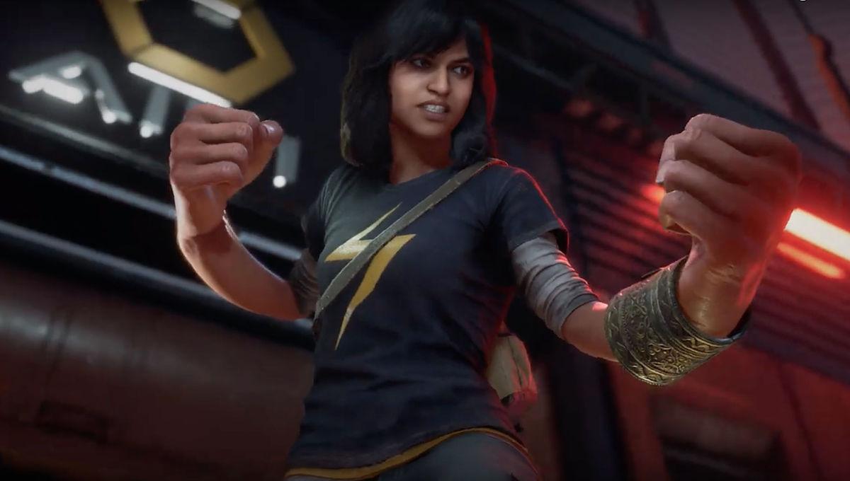 Chosen One of the Day: Kamala Khan slurping a soda in Marvel's Avengers trailer