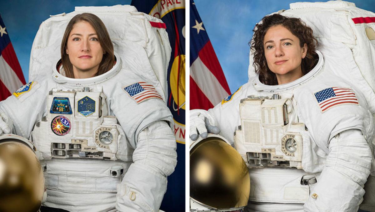 NASA achieves first all-female spacewalk with astronauts Jessica Meir and Christina Koch