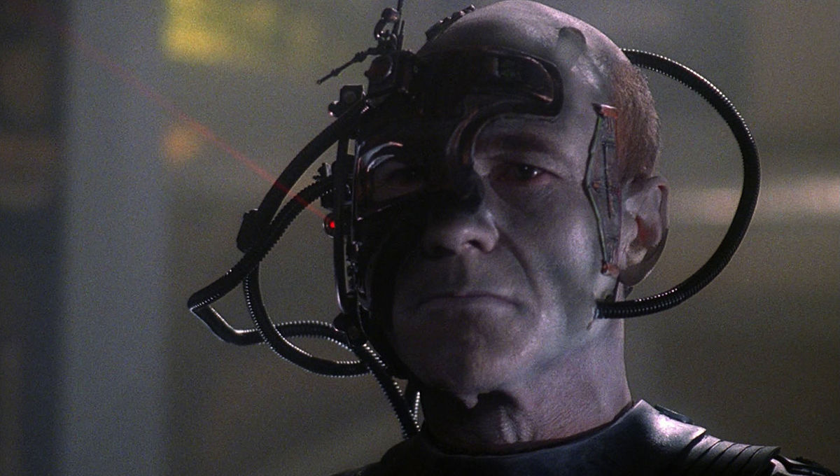 Star Trek villains, the Borg, are scarier than most horror movie monsters