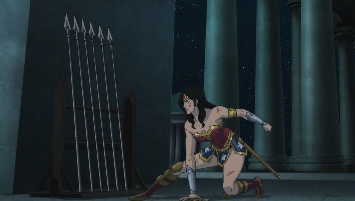 Exclusive: Wonder Woman tackles one of her biggest foes in this clip from Bloodlines