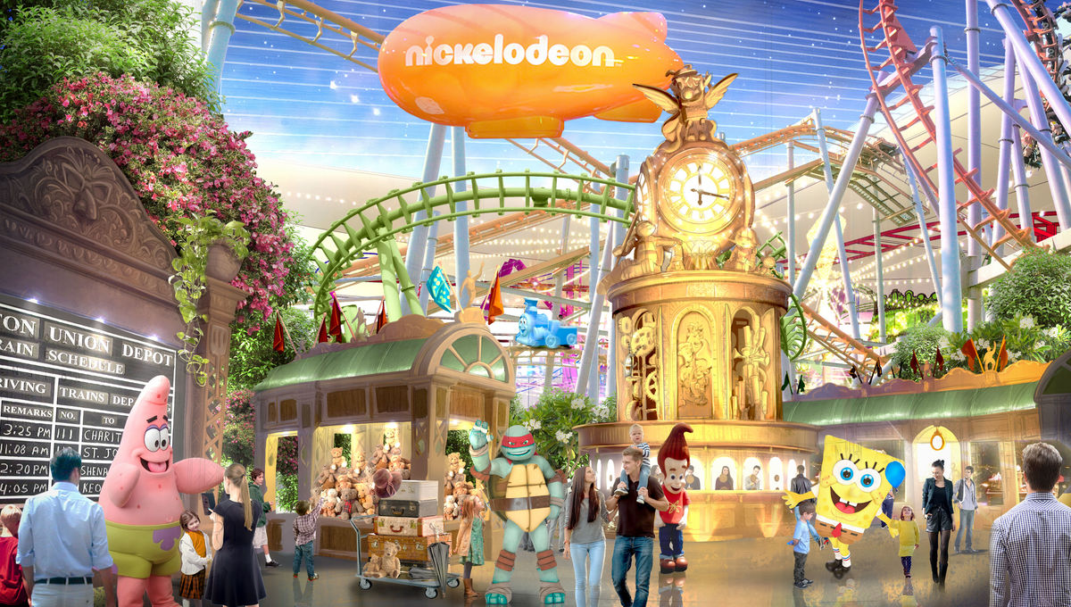 WIRE Buzz: Nickelodeon's indoor theme park; Sabrina showrunner's new horror projects
