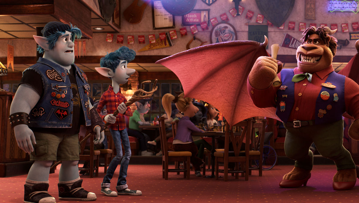 Official trailer for Pixar's Onward is like Weekend at Bernie's with elves and manticores