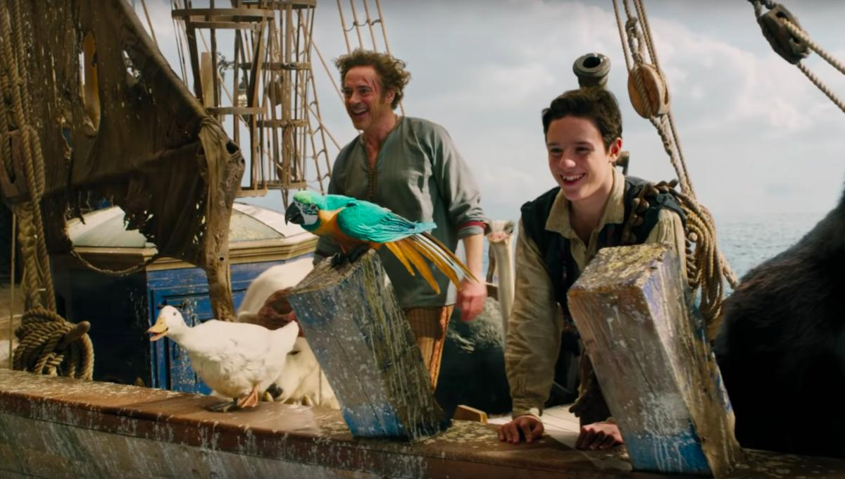 Robert Downey Jr. chats with animals, sets sail in first trailer for 'Dolittle'