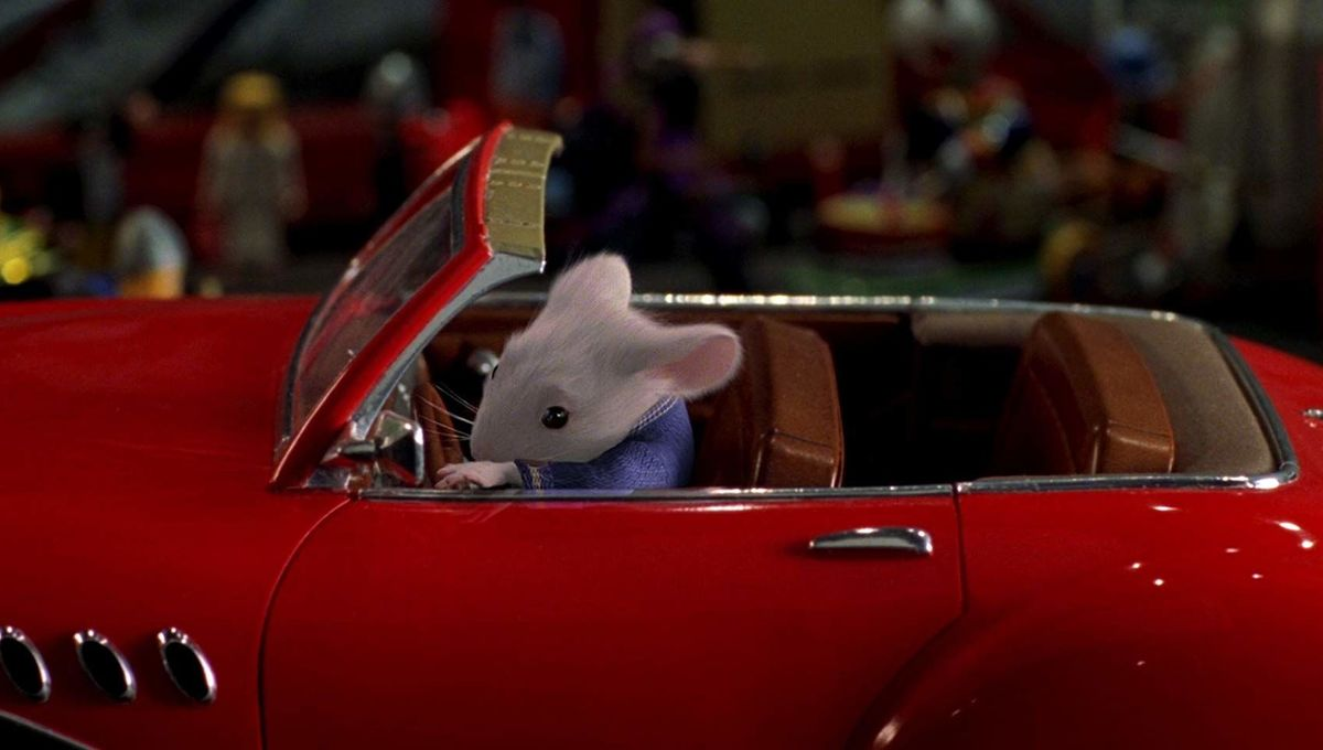 Stuart Little ain't got nothing on these rats that actually drive tiny cars