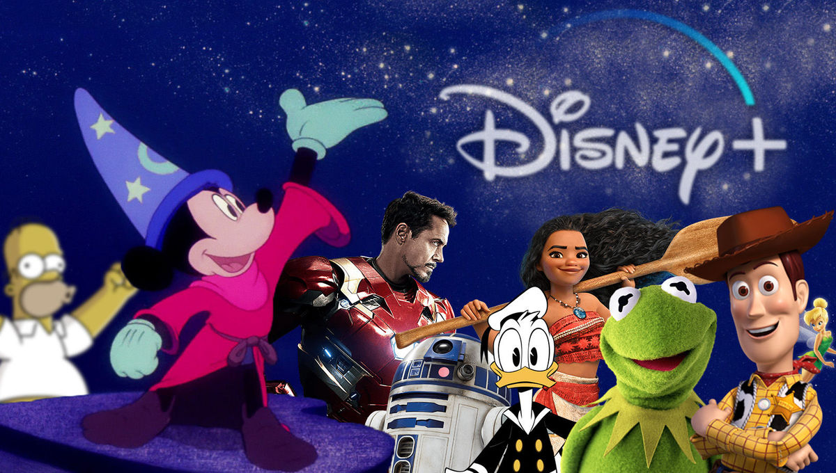 Disney+ 🍿 Coming & Going - cover