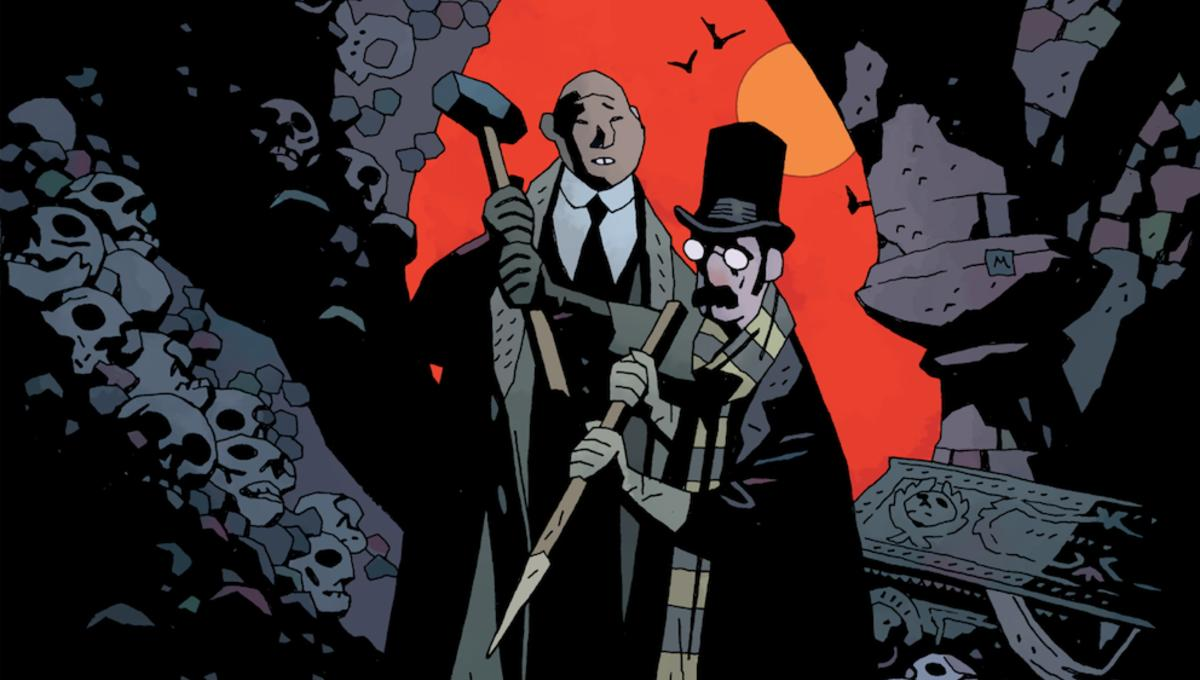Stake a claim on Dark Horse's vampire hunting graphic novel, Our Encounters With Evil