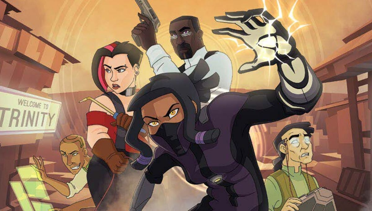 This is Dope: Kamikaze, an award-winning webcomic, is becoming a fan-funded animated pilot