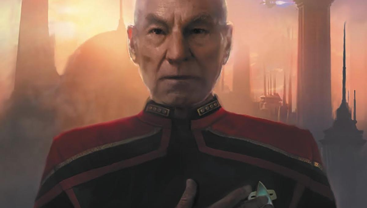 Inside the Star Trek: Picard prequel comic, on the vineyard with Jean-Luc