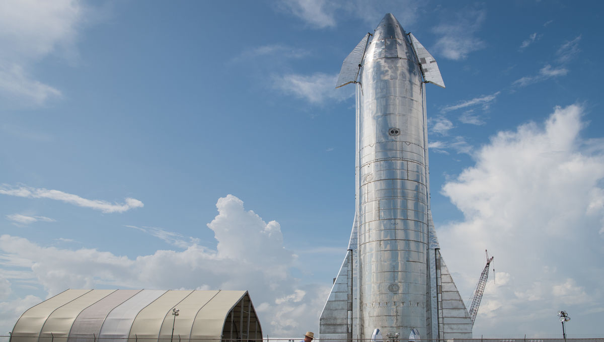 SpaceX Starship Mk 1 blows its actual top during cryogenic testing