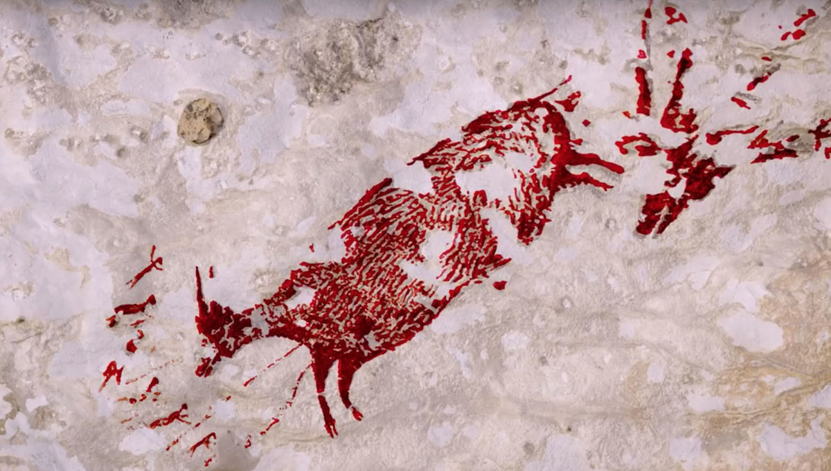 Fantastical 44,000-year-old cave painting proves we've believed in cryptids at least that long