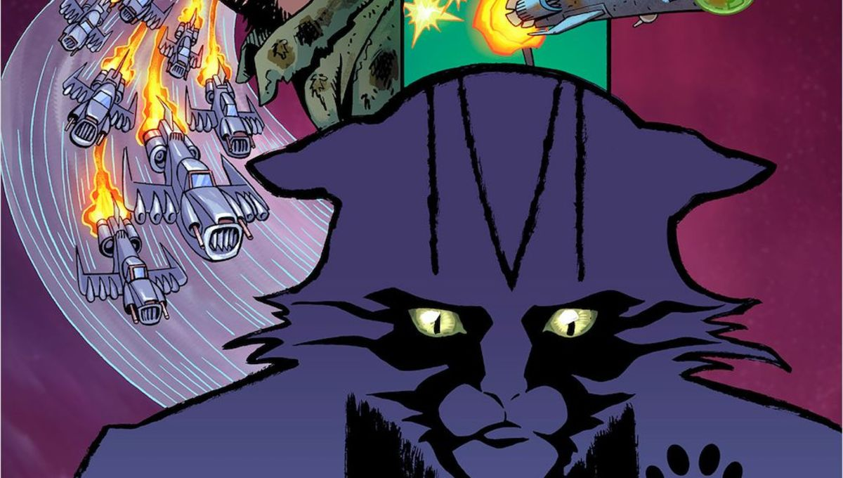 Cats are back in outer space in Ahoy Comics' Captain Ginger Season 2 #1