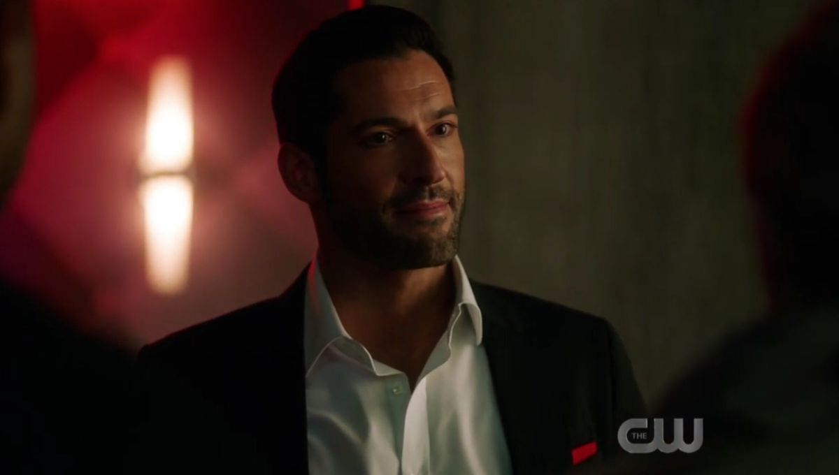Surprise! Crisis on Infinite Earths crossed over with Netflix's Lucifer with a perfect cameo