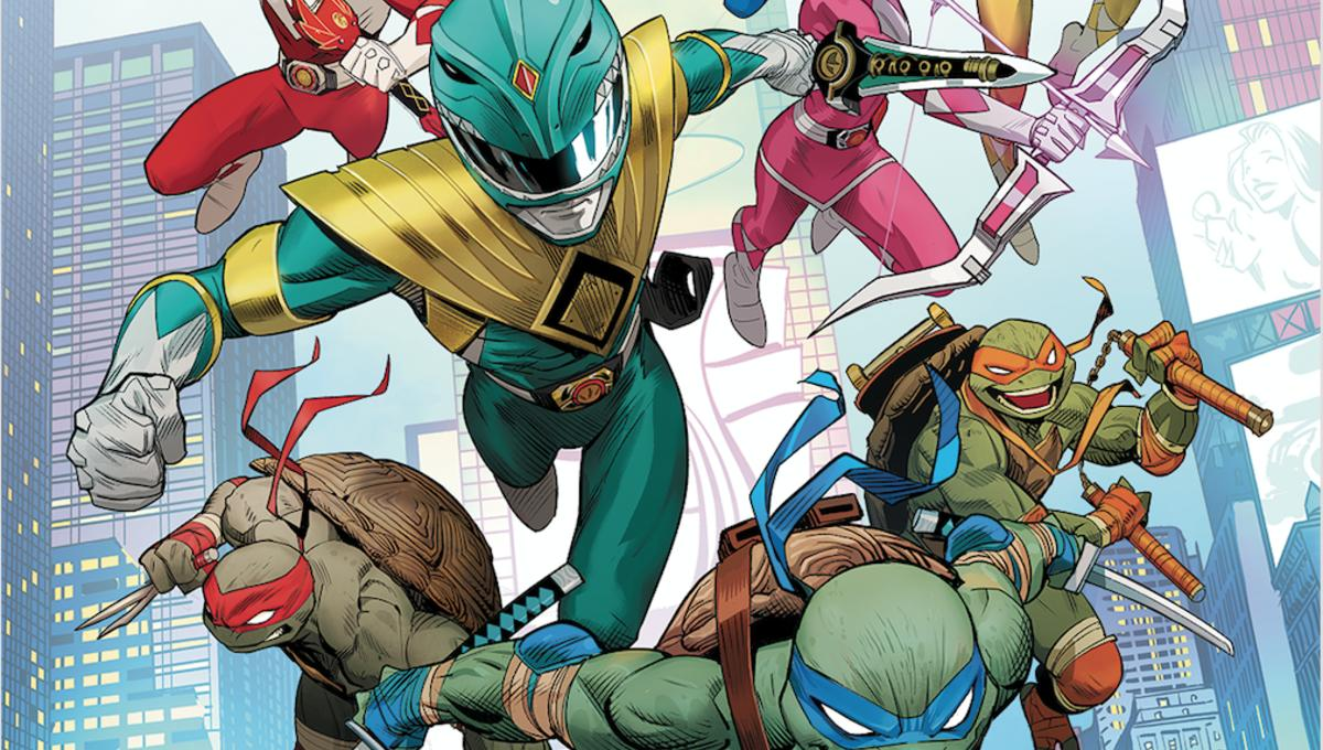 Preview: Mighty Morphin Power Rangers & Teenage Mutant Ninja Turtles clash in crazy crossover