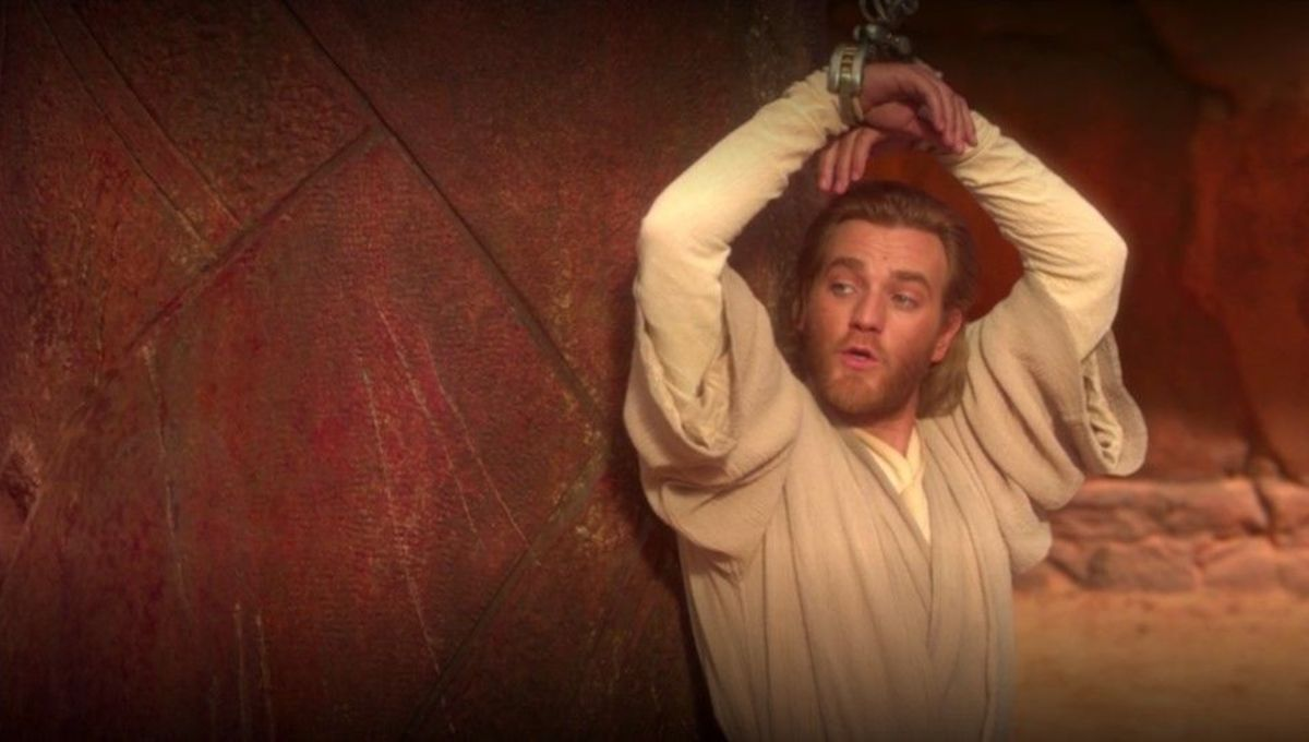 The best scene in Star Wars is that time Obi-Wan Kenobi decided he was so very done in Attack of the Clones