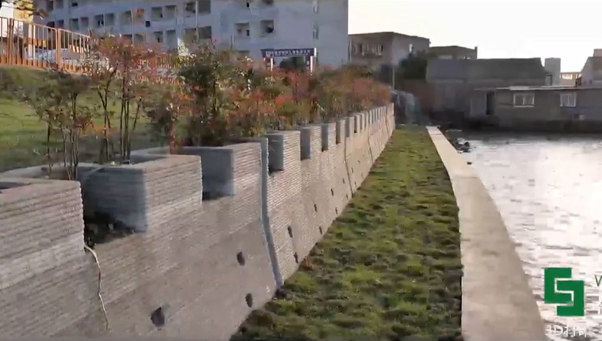 China's new great wall is one of the world's largest 3D-printed structures