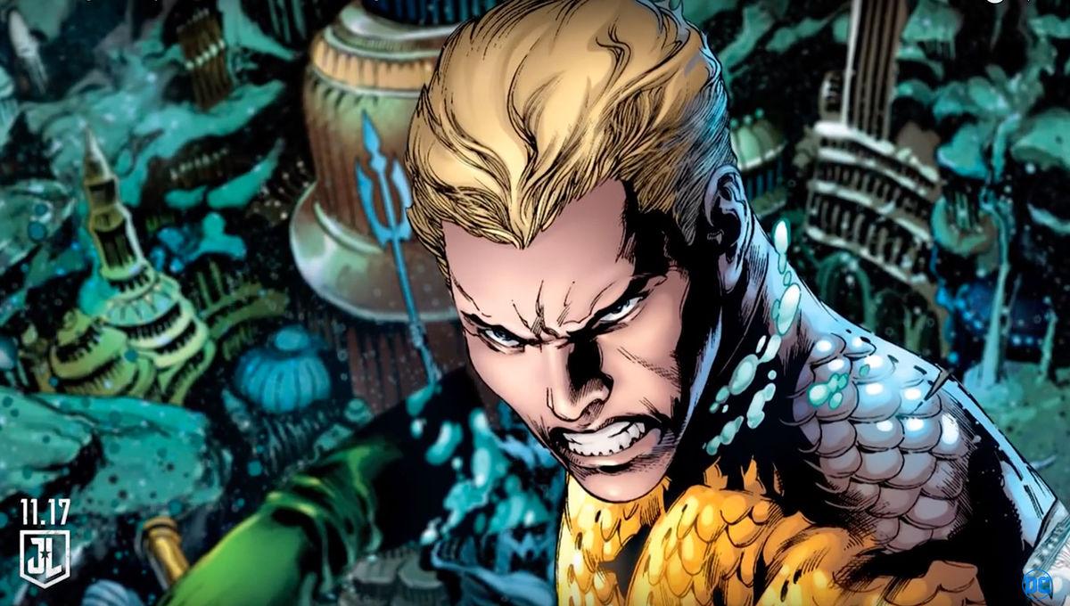 A DC Comics image of Aquaman