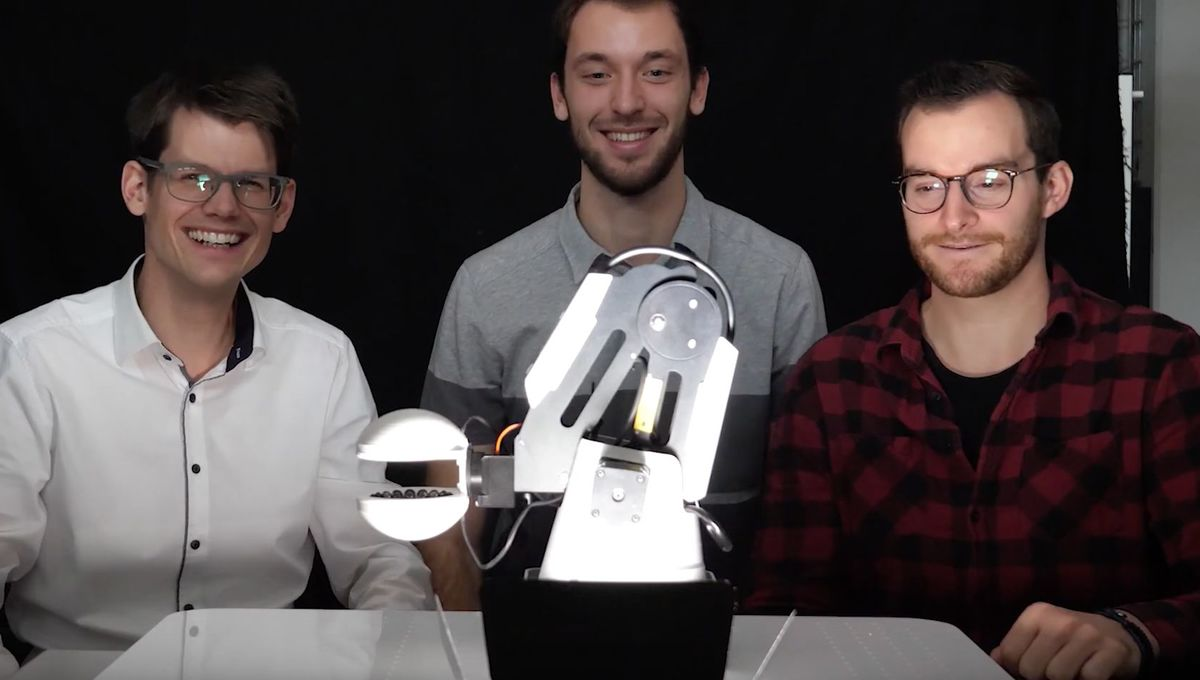 Swiss researcher develops unreal robot hand that levitates objects