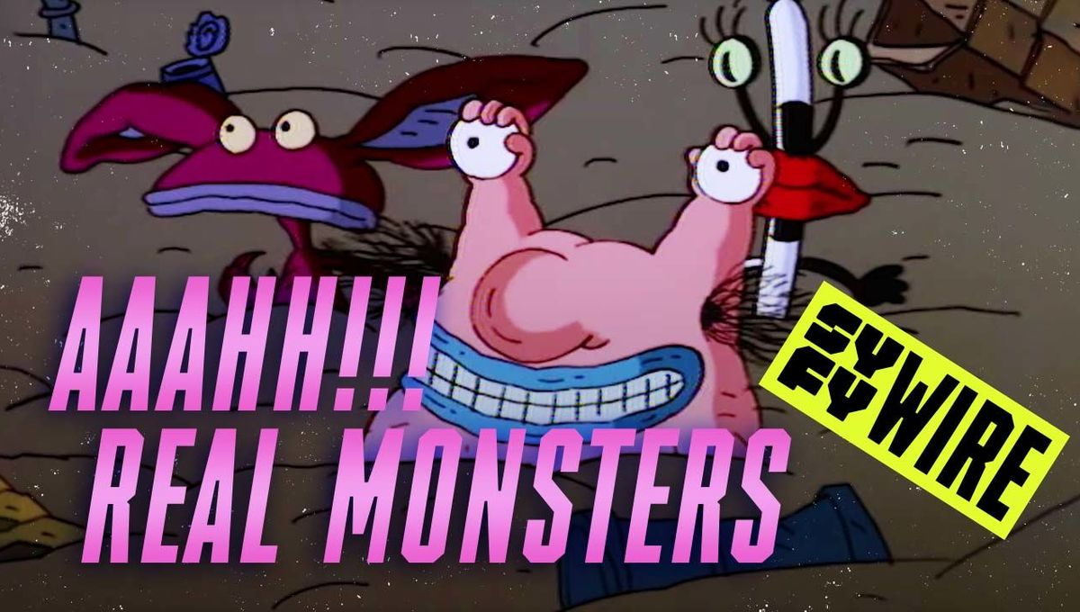 The real Monsters Inc.? Everything you didn't know about Aaahh!!! Real Monsters