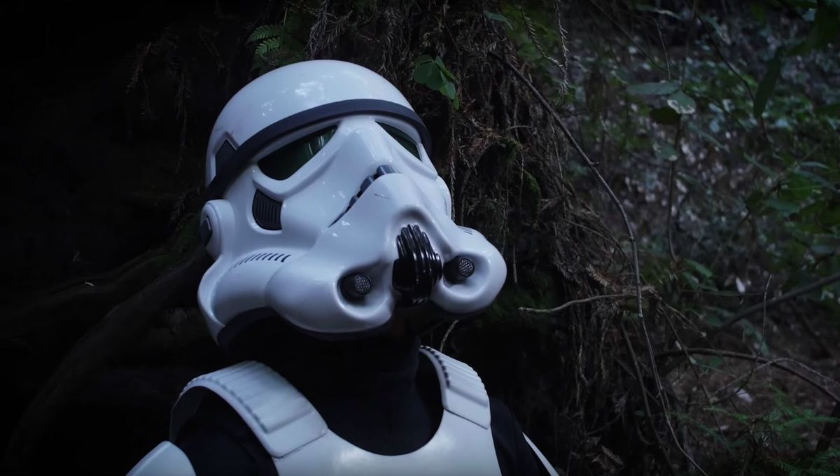 Bloodthirsty Ewoks hunt a Stormtrooper after the fall of the Empire in fan film 'Alone'