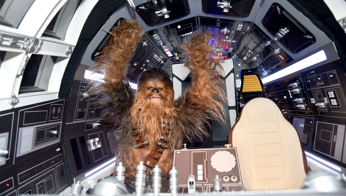 Theme Park News: A secret hack activates Chewbacca as your copilot in Galaxy's Edge
