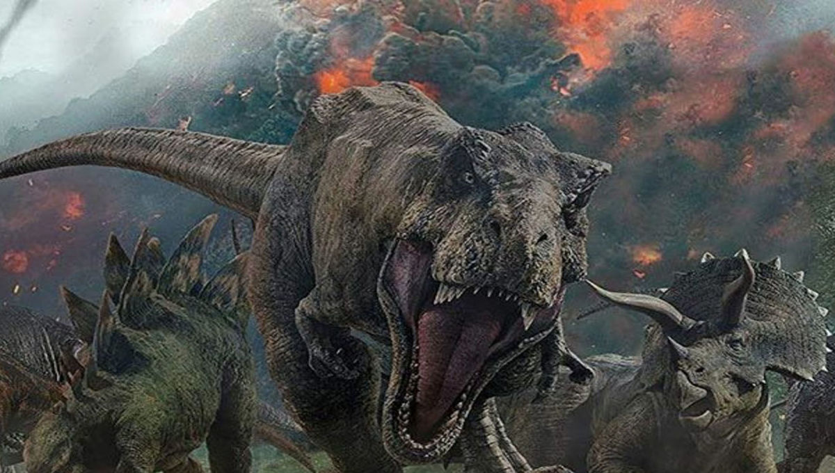 These dinosaurs literally walked on fire during Earth's own inferno - SYFY WIRE