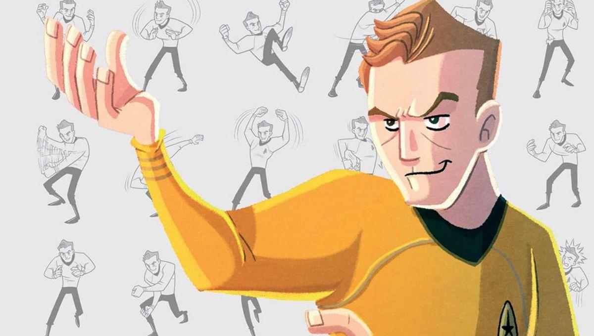 Master the captain's martial arts moves in new Star Trek: Kirk Fu Manual