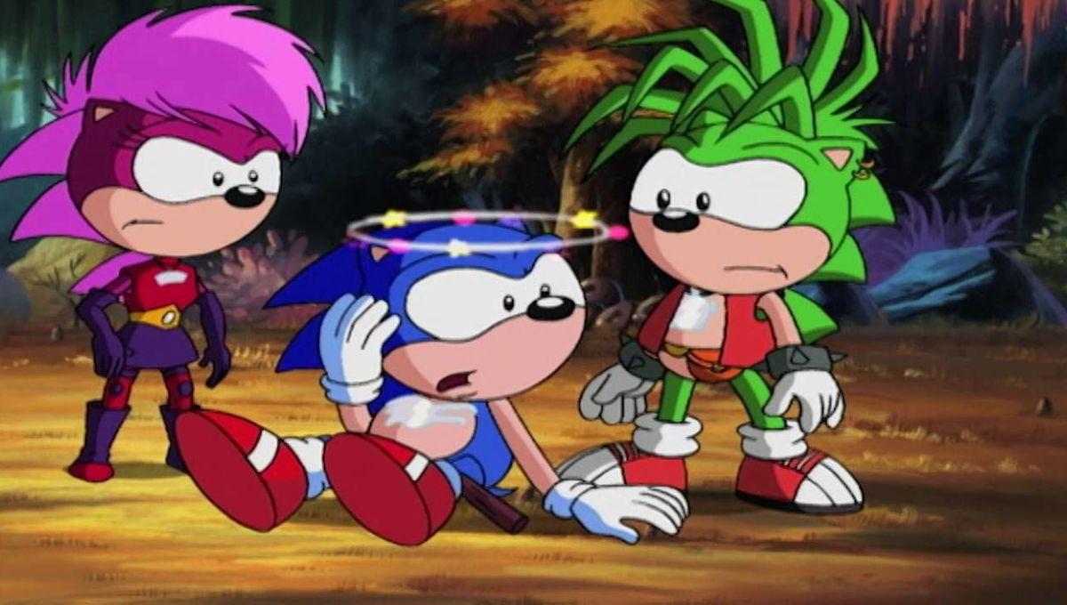 Sonic Underground Was Peak Weird Sonic