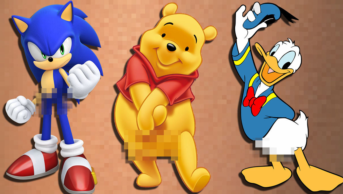 Why Don T Classic Cartoon Characters Wear Pants