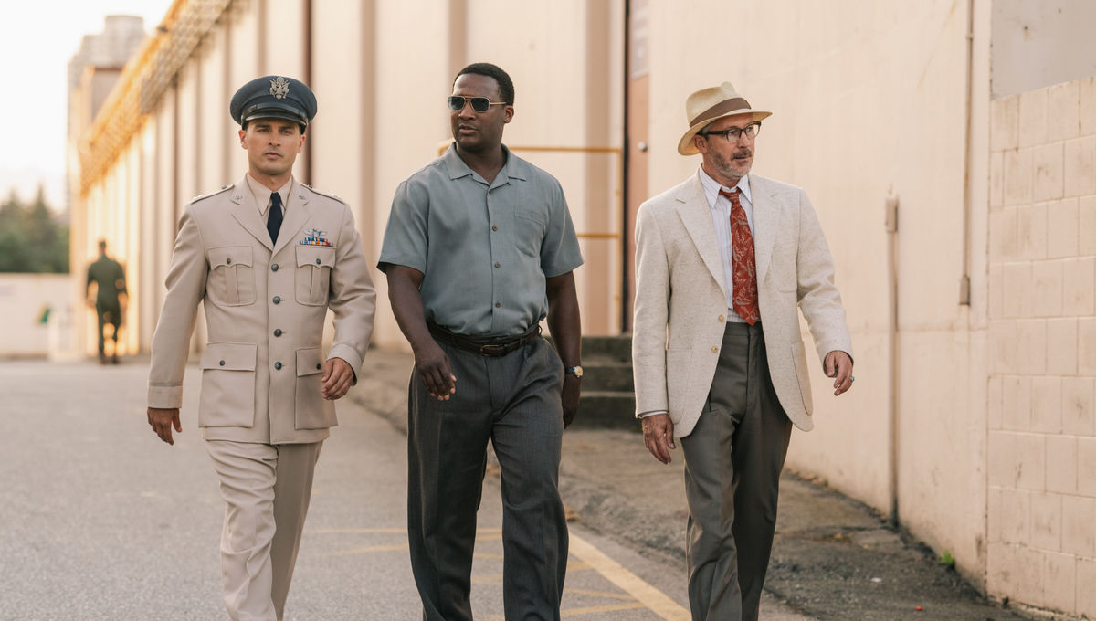 Project Blue Book podcast 2.3: Michael Malarkey and Jerod Haynes infiltrate 'Area 51'