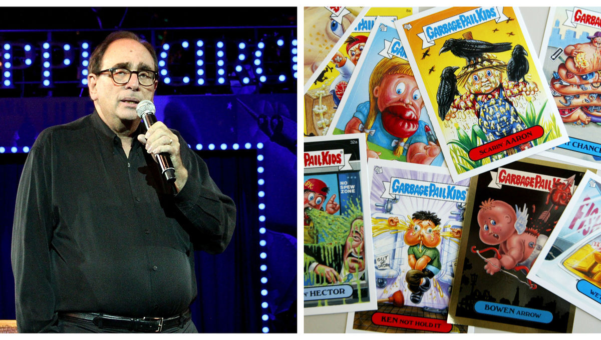 R.L. Stine hooks deal for three book series based on Topps' Garbage Pail Kids