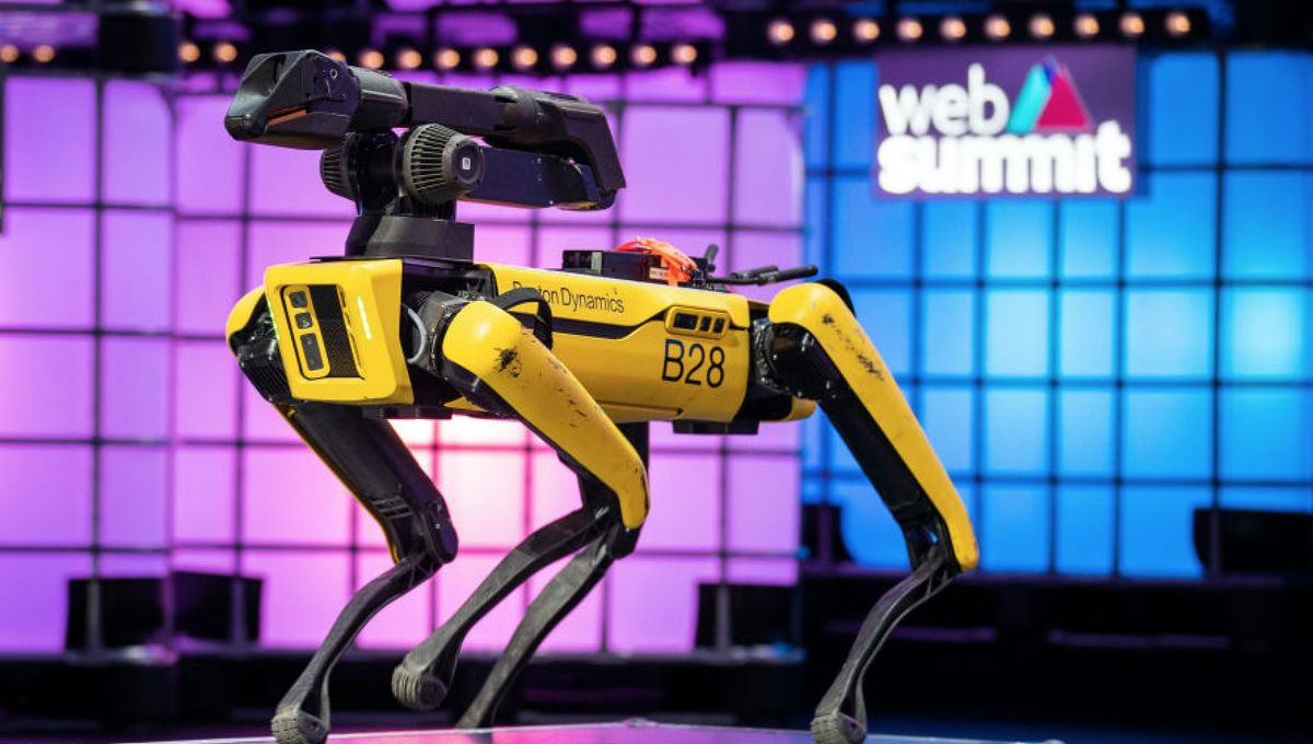 Boston Dynamics' robotic dog gets a job working an offshore oil rig