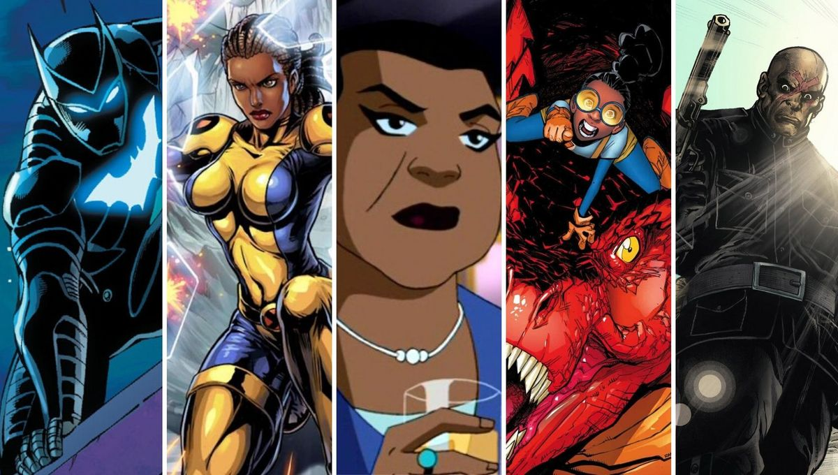 10 Black comic book characters coming to a screen near you