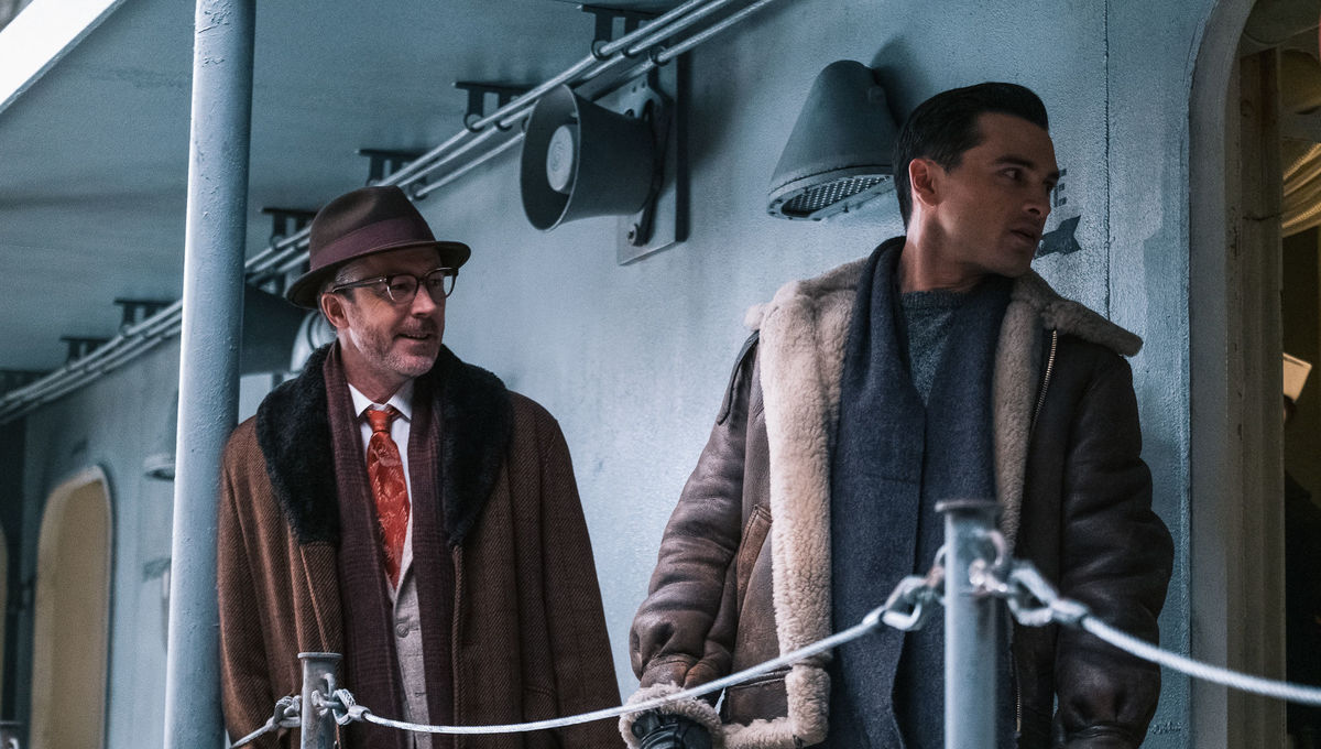 Project Blue Book podcast 2 . 10 Operation Mainbrace Aidan Gillen