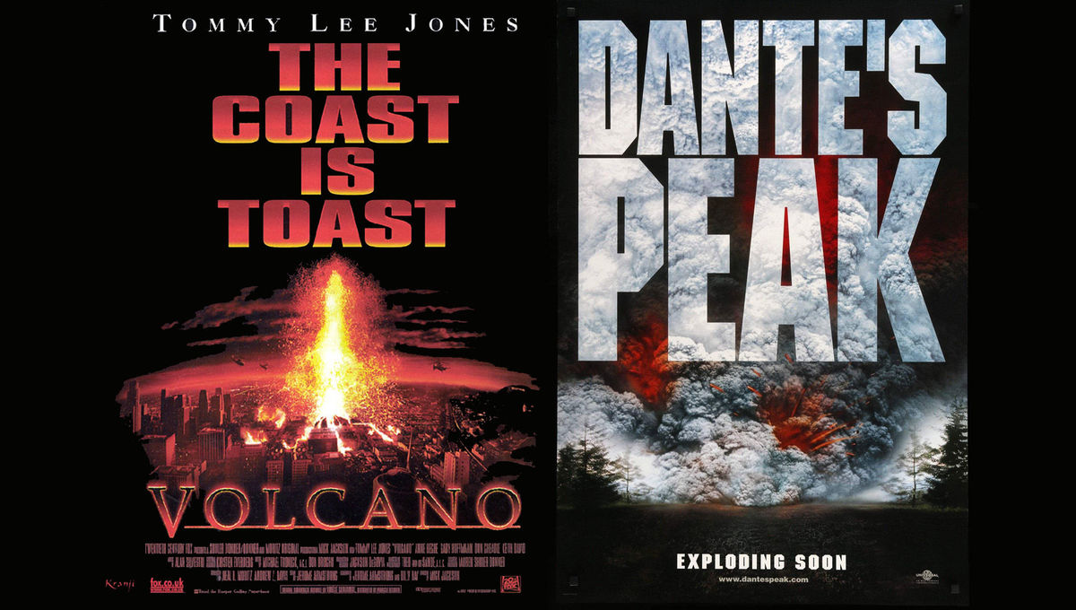 90 thoughts we had while watching Volcano and Dante's Peak back to back