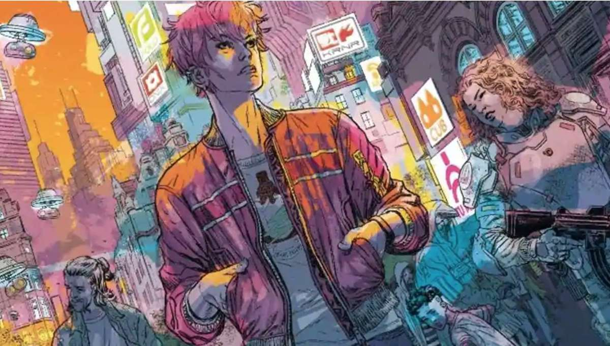 Duncan Jones and Alex de Campi complete the 'Mooniverse' with sci-fi graphic novel, MADI