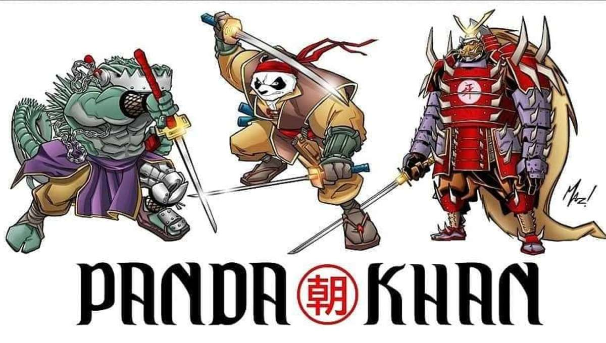Panda Khan emerges from the bamboo shoots and into the Anthroverse, the MCU for animals