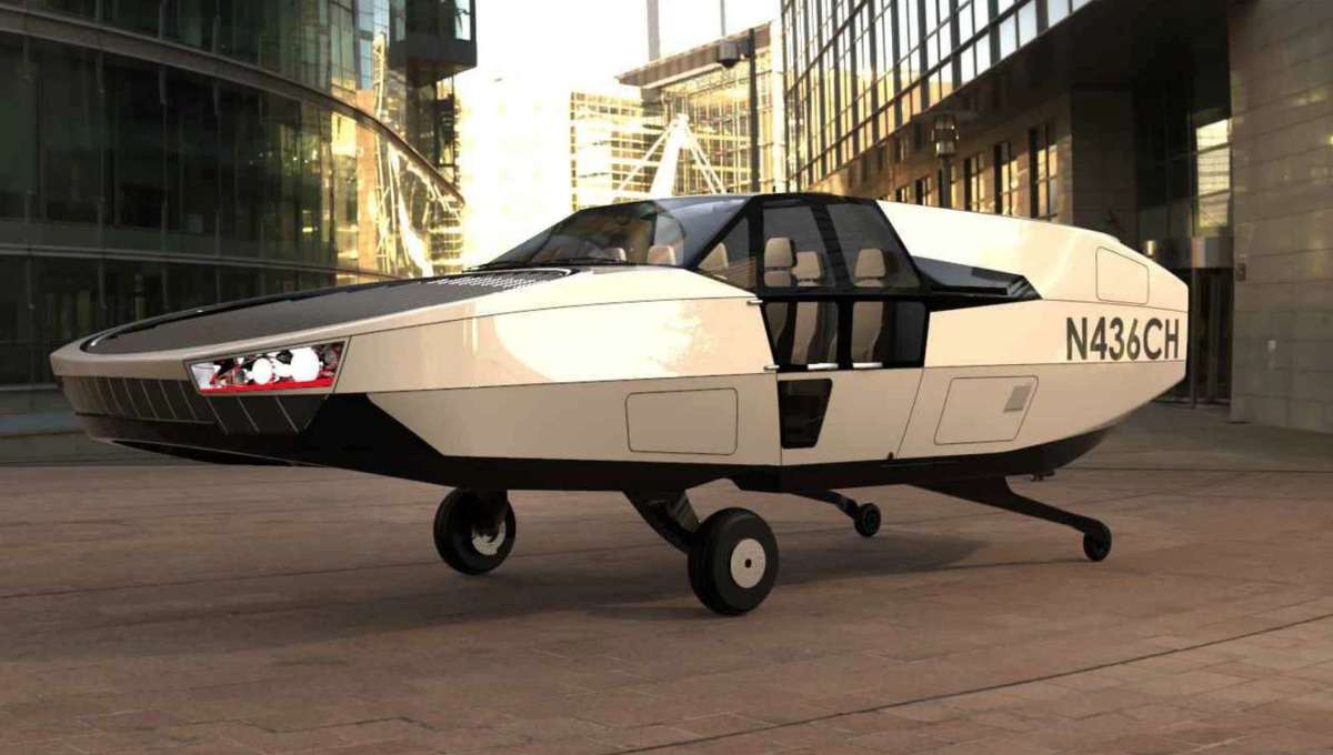 New Vertical Takeoff and Landing flying taxi has its roots in modern sci-fi films