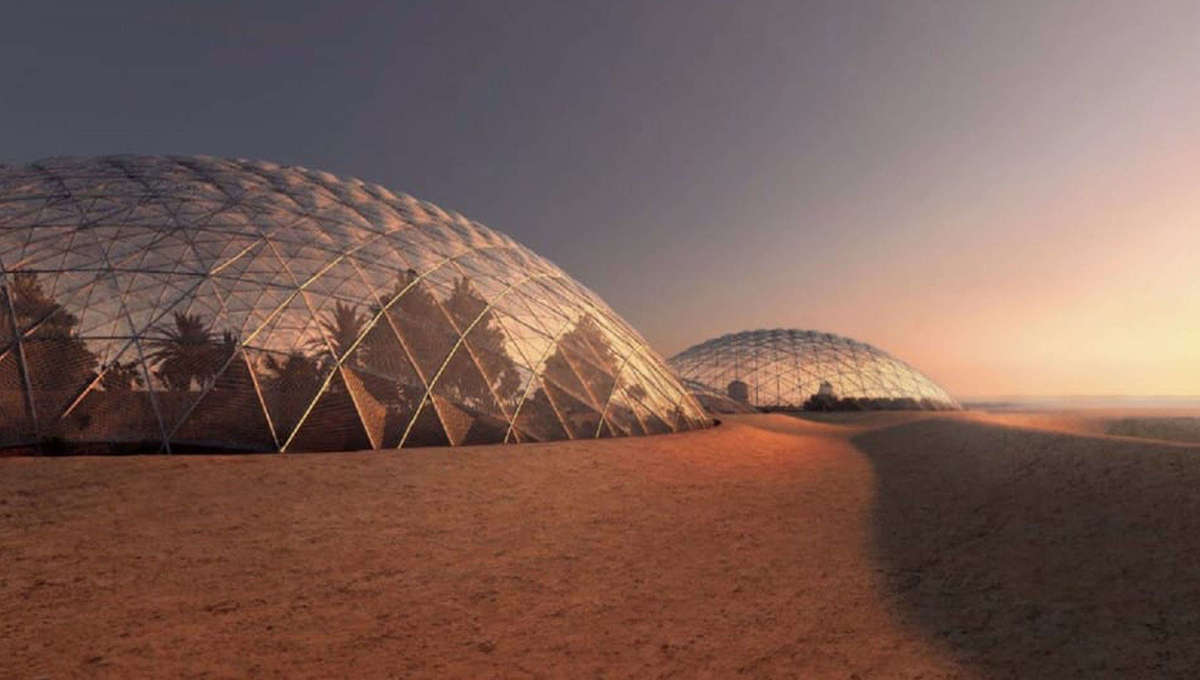 The Martian city of the future is landing in Dubai, and it's going to an out-of-this-world experience