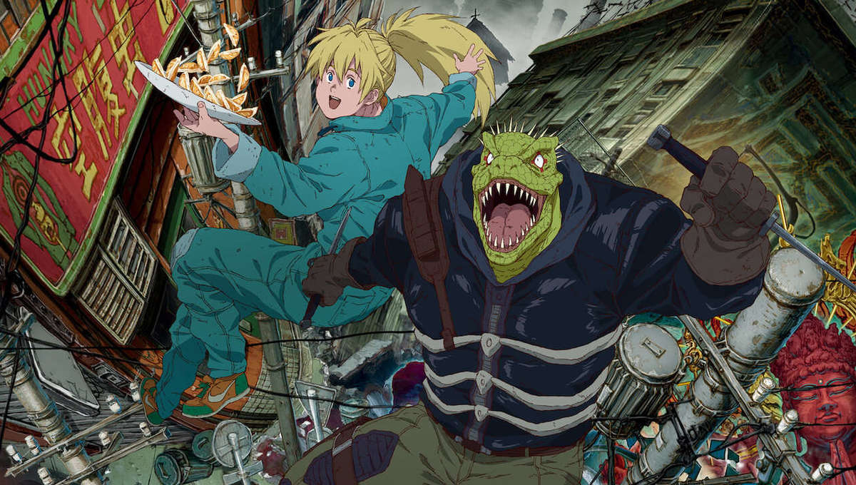 Why is everyone sleeping on Dorohedoro, Netflix's wildest, nostalgia-tinged new anime?
