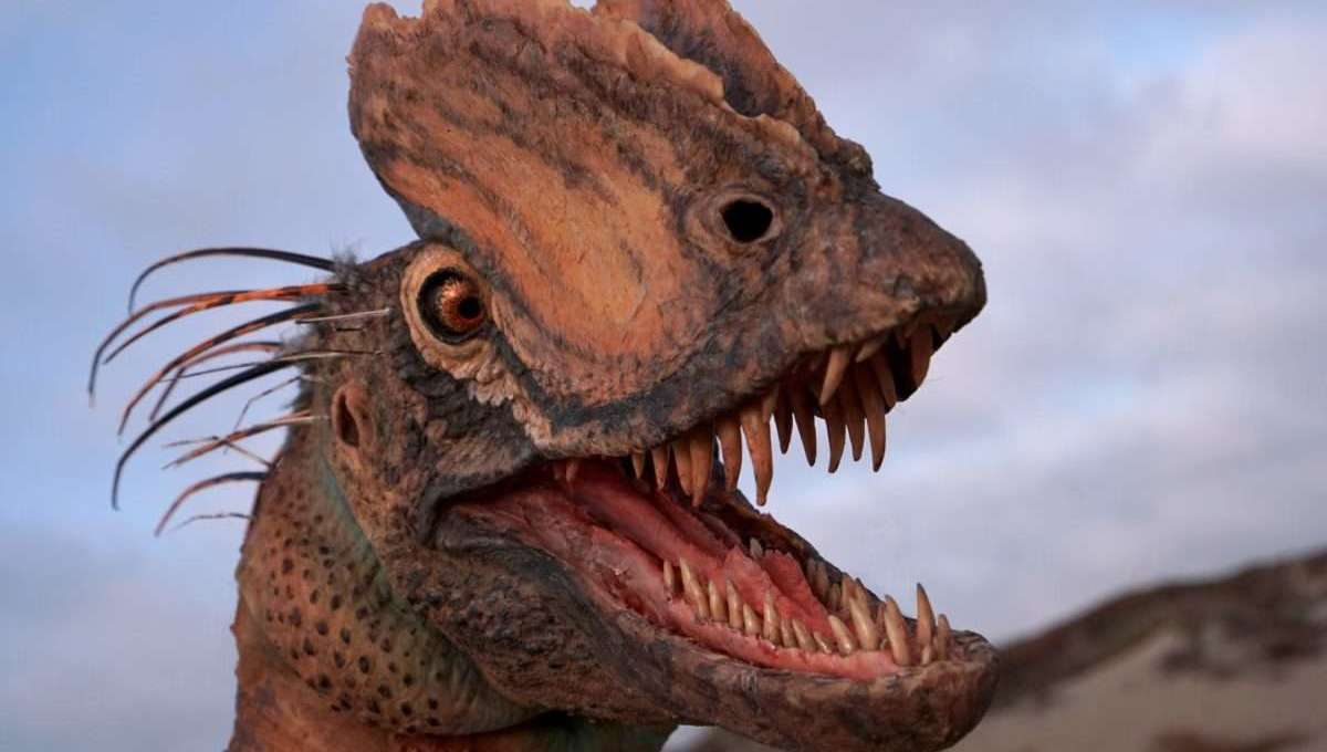 New study finds Jurassic Park's 'spitter' dino very different than the film's portrayal