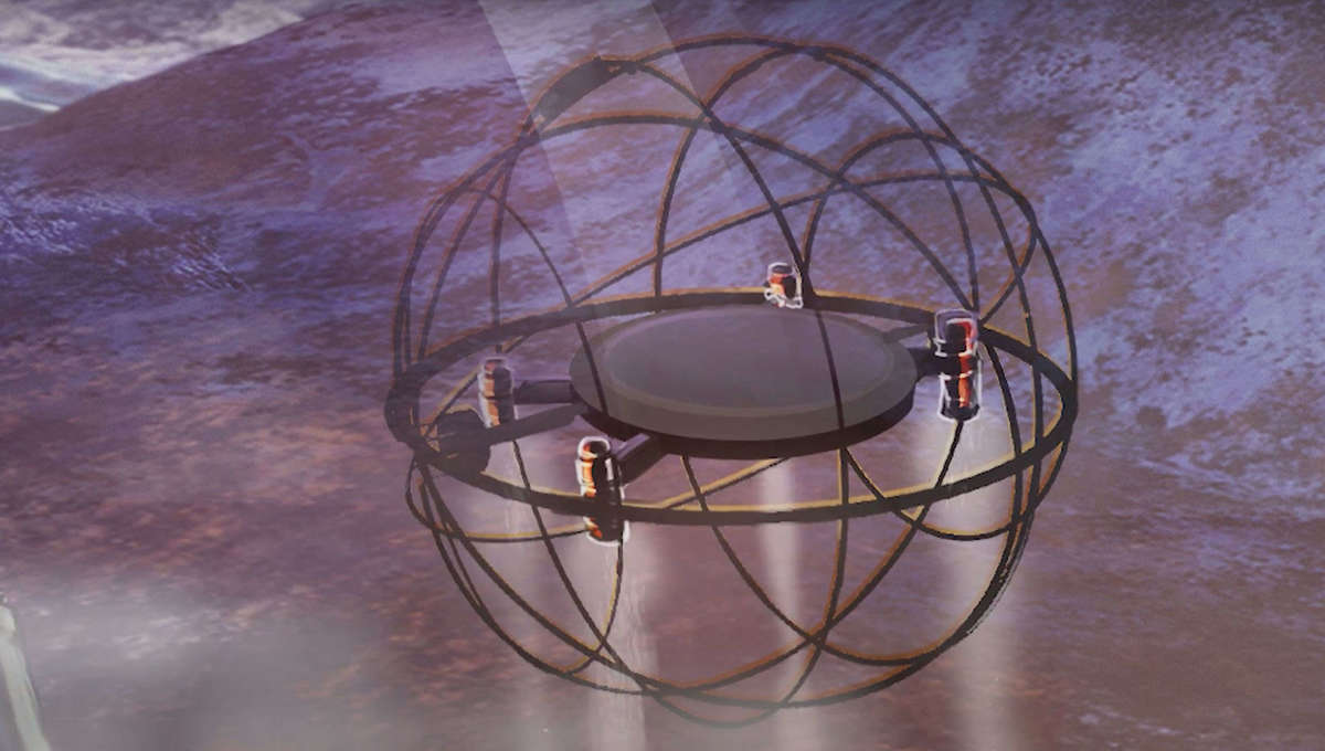 This steampunk-looking robot could be NASA's newest way to explore frozen alien moons