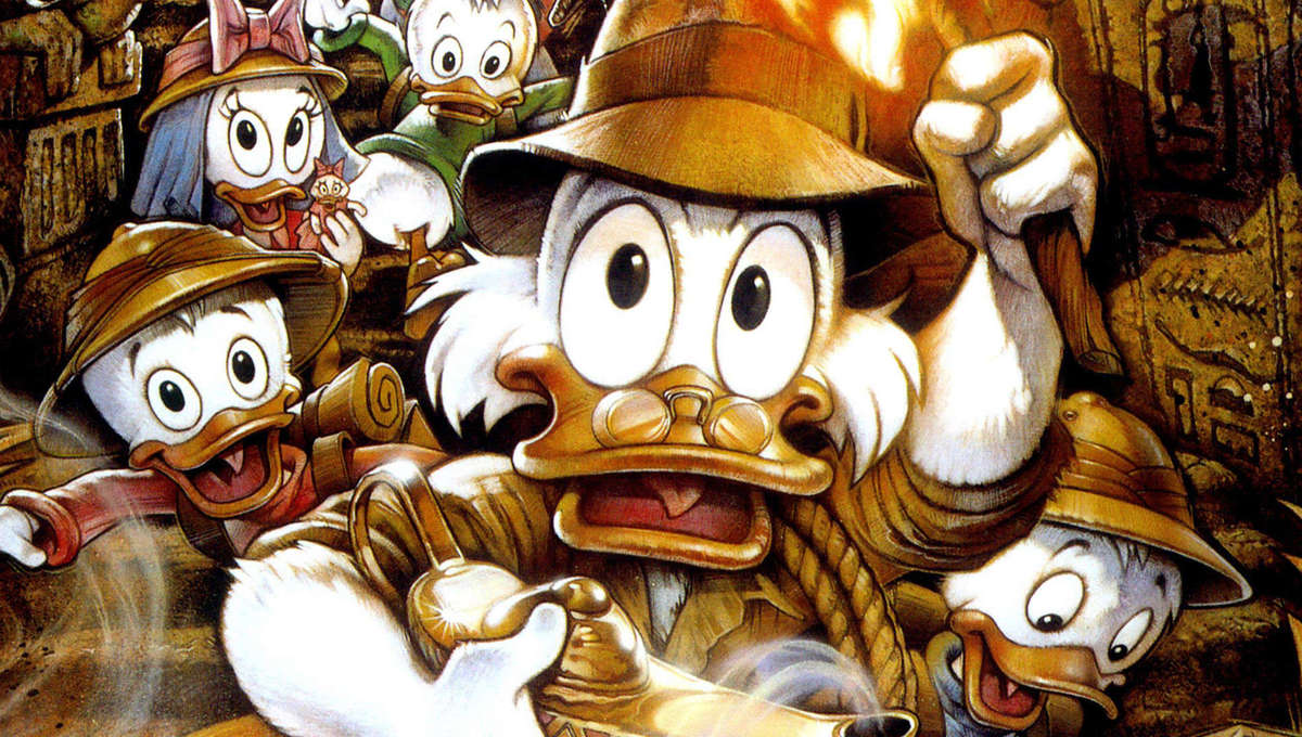 DuckTales the Movie: Treasure of the Lost Lamp was a true Disney experiment