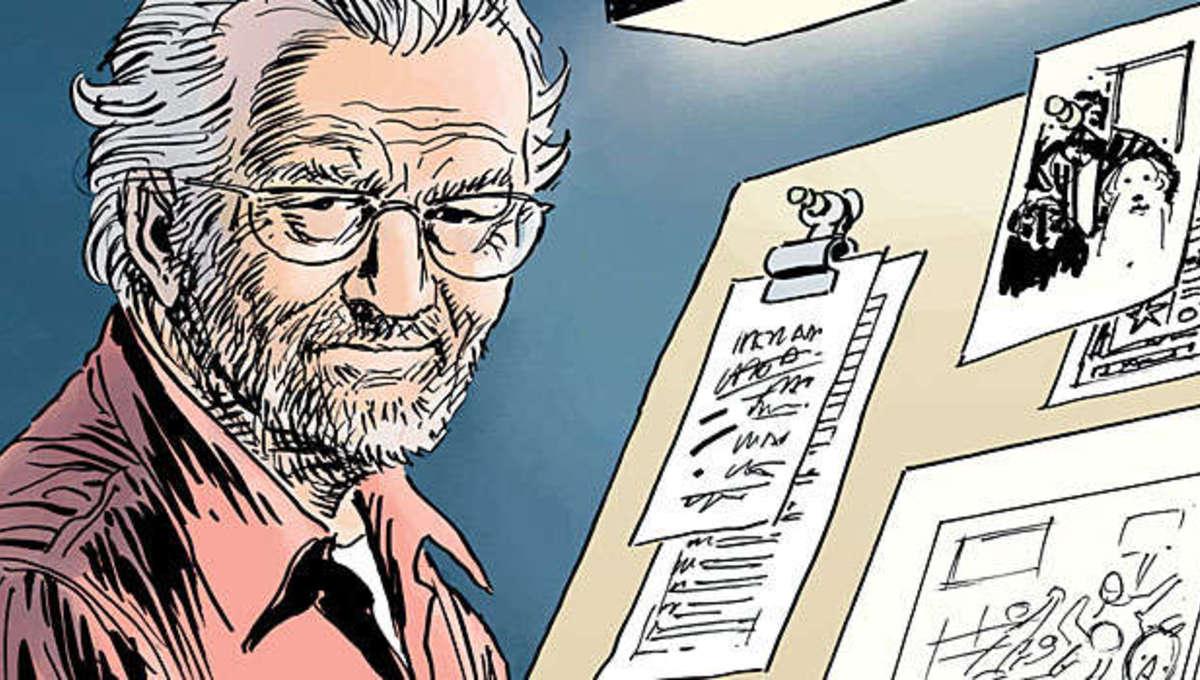 The greatness of Joe Kubert, comics' greatest teacher