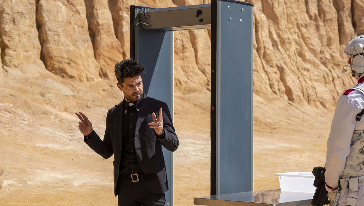 Let's remember how unabashedly bonkers AMC's Preacher was (and how it deserved better)