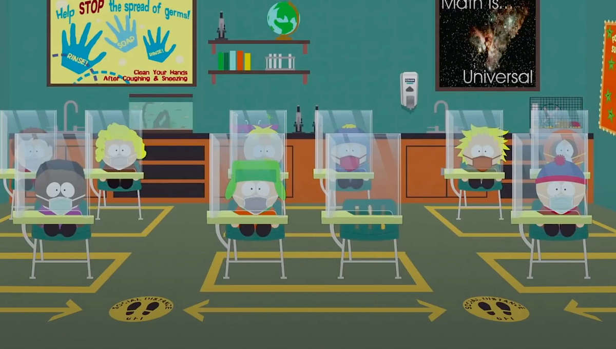 WIRE Buzz: South Park tackles pandemic in hour-long special; Cobweb nabs The Boys' Anthony Starr; more